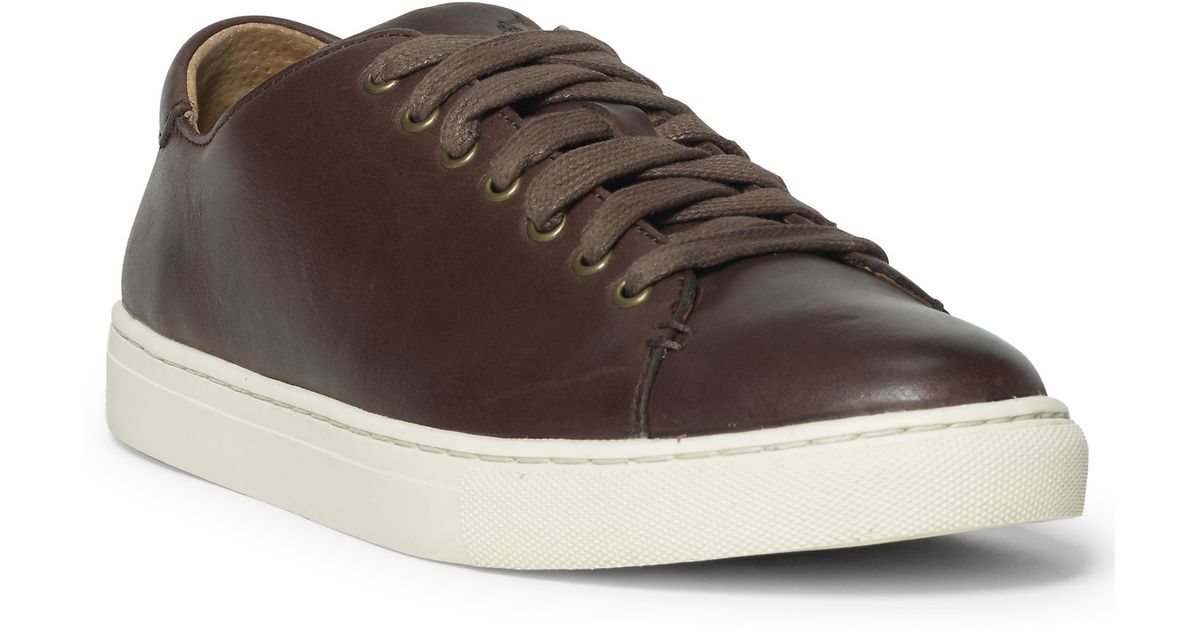 polo leather sneakers - 63% OFF
