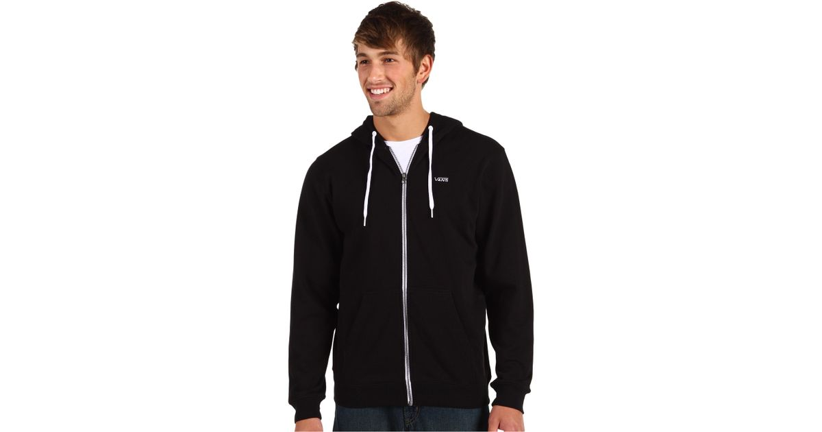1694017a0f Lyst - Vans Core Basics Zip Hoodie Ii in Black for Men