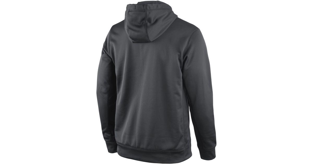 new style 9b669 1e820 Nike Gray Men'S New Orleans Saints Platinum Ko Hoodie for men