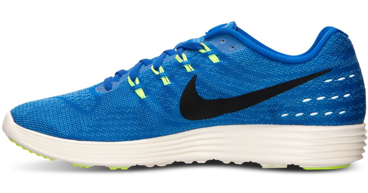 new concept 71c52 1ecde Lyst - Nike Men s Lunartempo 2 Running Sneakers From Finish Line in Blue  for Men