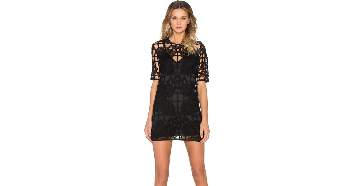 Lyst Alice Mccall You Wear It Well Stretch Crepe Dress In Black
