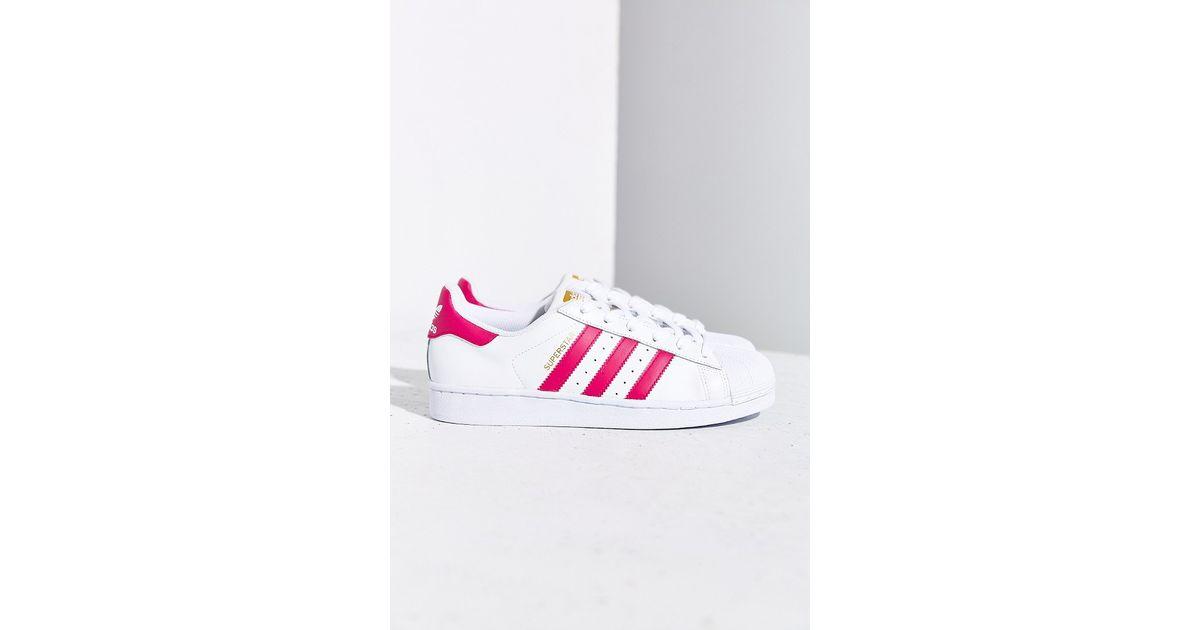 f35c401fcfc Lyst - adidas Originals Superstar Women S Sneaker in Pink