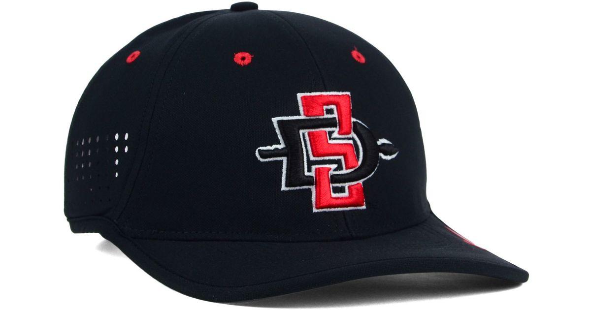 b8872c125ee Lyst - Nike San Diego State Aztecs Coaches Dri-fit Cap in Black for Men