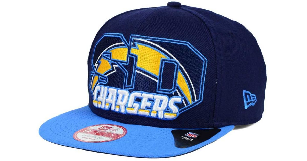 458831859 KTZ San Diego Chargers Big City 9fifty Snapback Cap in Blue for Men - Lyst