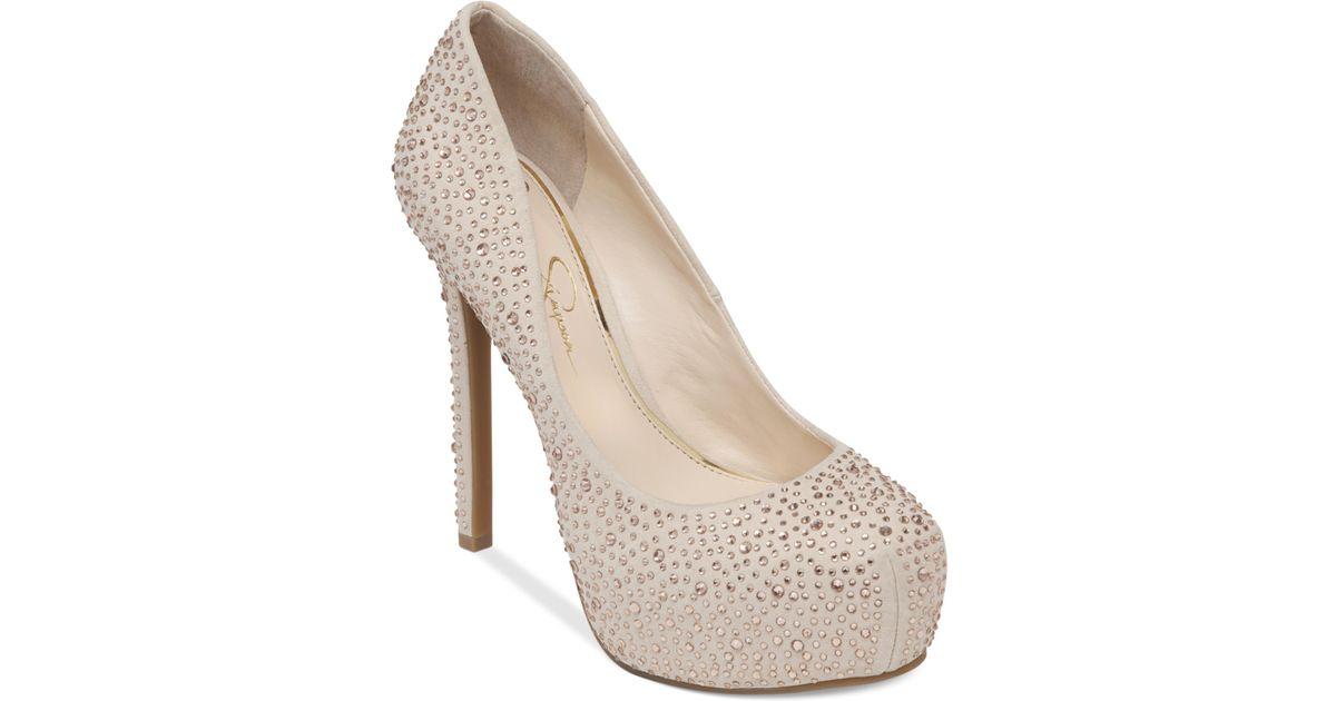 Jessica Simpson Rebeca Platform Pump, 5 heel   Sapatos