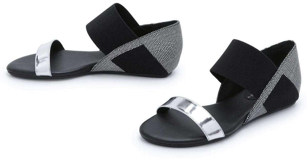 United nude Lo Res Earth Sandals in Metallic   Lyst