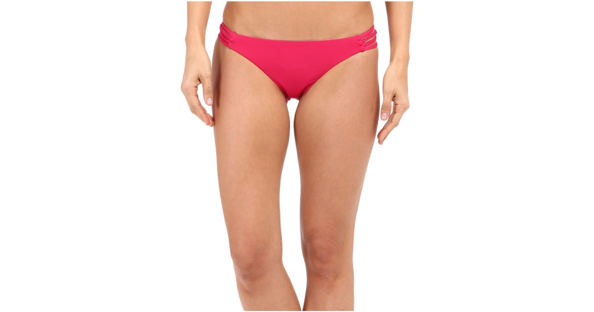 3d3db2758c80 Roxy Sunset Paradise Heart Bottoms in Red - Lyst