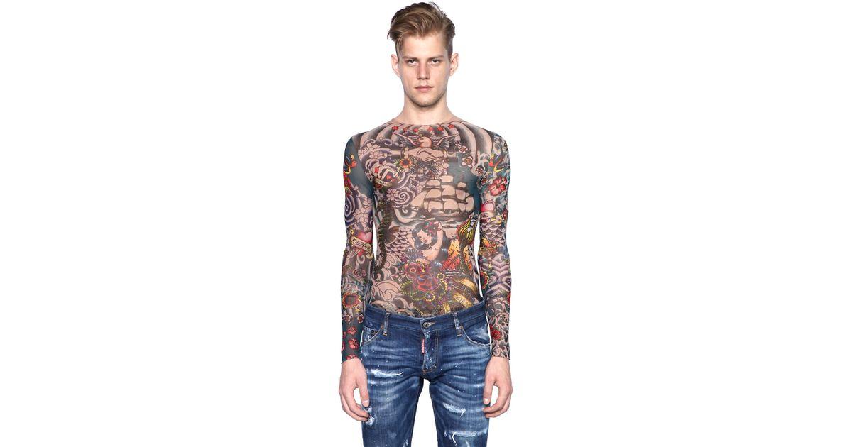 dsquared2 tattoo top