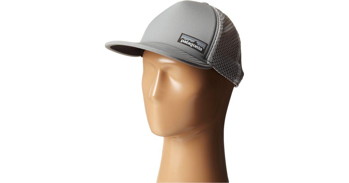 Patagonia Gray Duckbill Trucker Hat