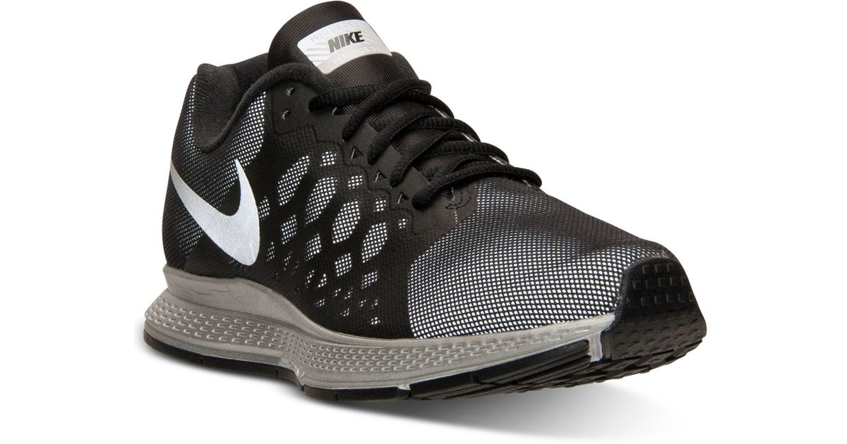 wholesale dealer 40cdf 92d6e Lyst - Nike Women S Zoom Pegasus 31 Flash Running Sneakers From Finish Line  in Black