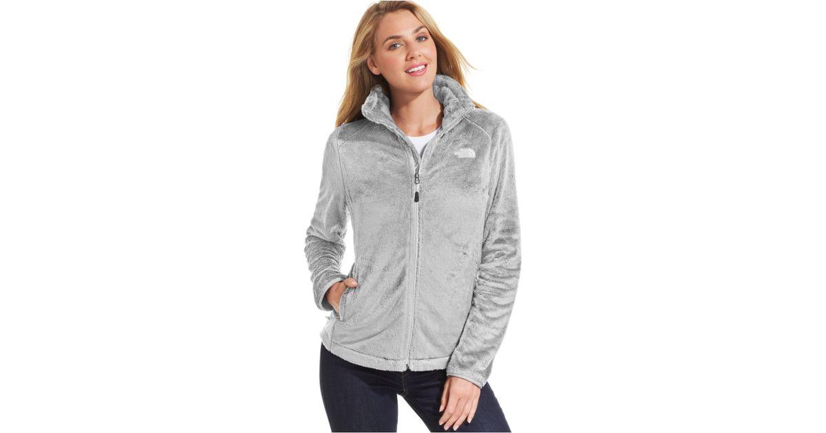 8bd64cb45 The North Face Gray Osito 2 Fleece Jacket