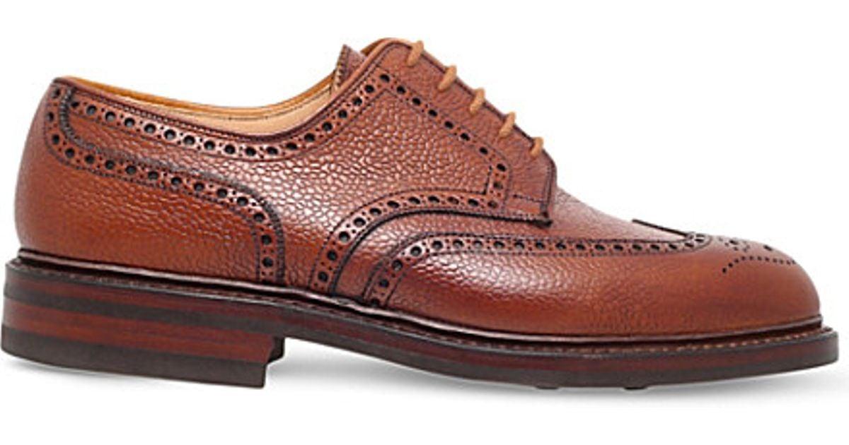 Crockett \u0026 Jones Pembroke Grain-leather