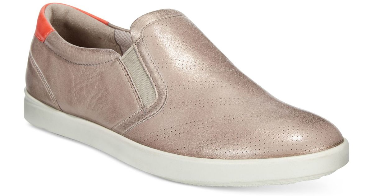 8bd31d131cd Ecco Women's Aimee Slip-on Sneakers in Pink - Lyst