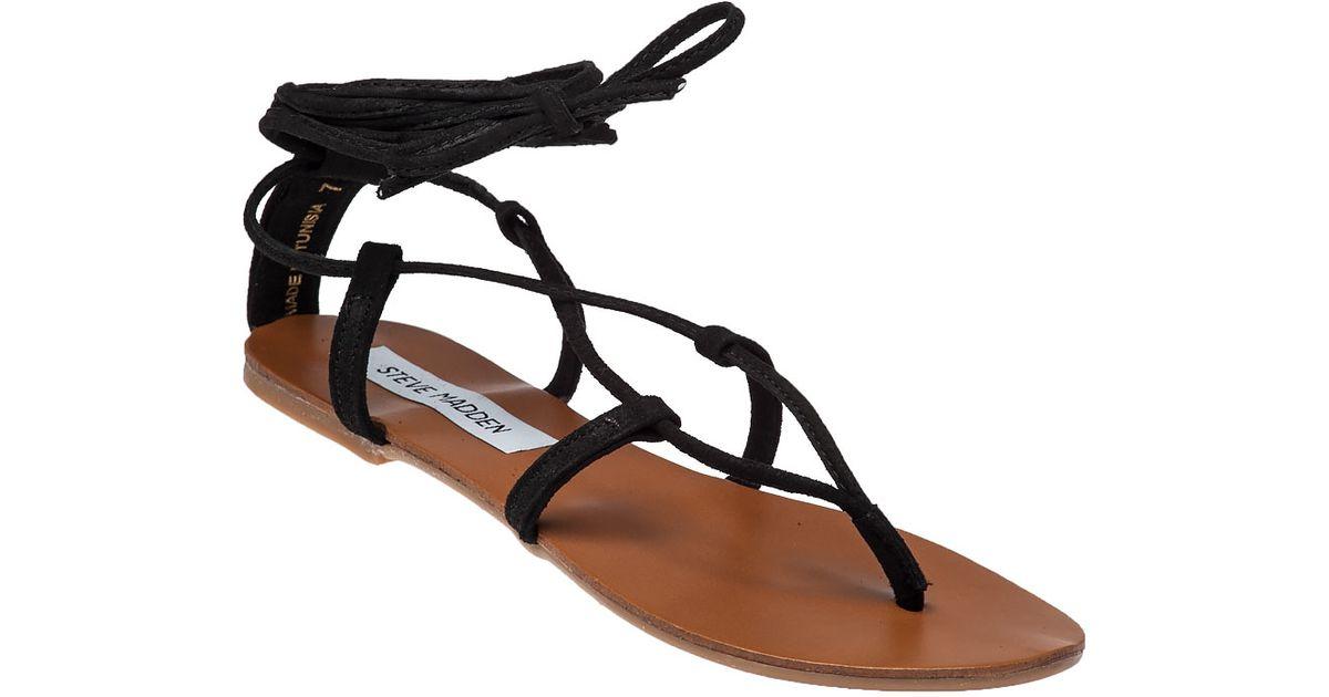 f84b8fa8b68 Steve Madden Black Werkit Suede Sandals