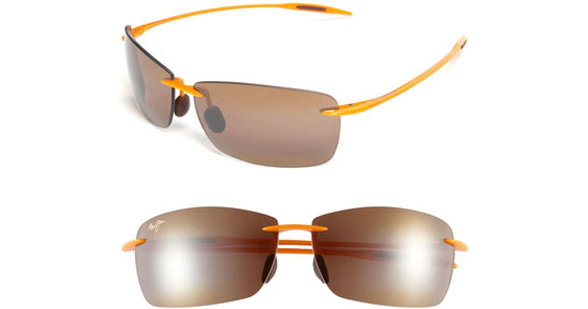 c4a38652fd5 Maui Jim 'lighthouse - Tennessee Volunteers' Polarized Sunglasses in Orange  - Lyst