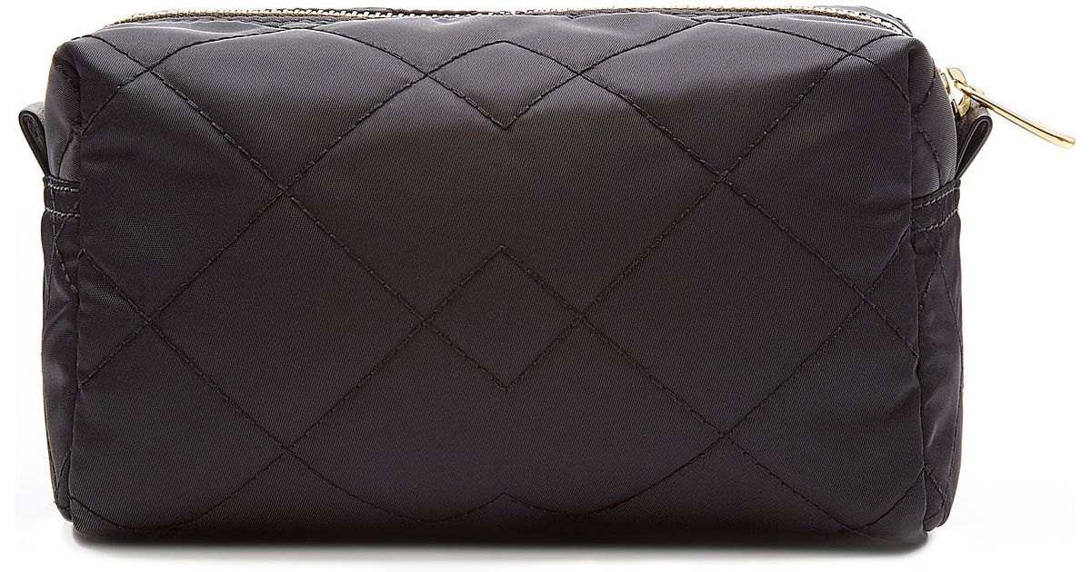 5287adff2cf8 Lyst - Marc By Marc Jacobs Quilted Makeup Bag - Black in Black