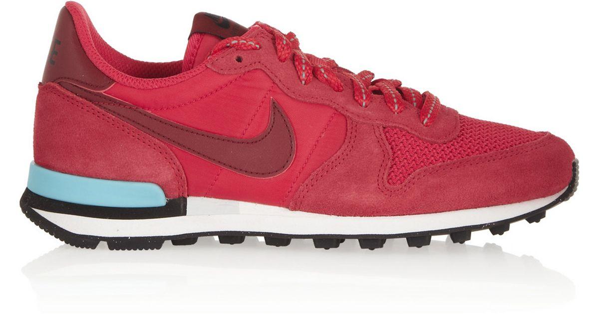 buy popular 3c70d c43a6 Lyst - Nike Internationalist Sneakers in Red