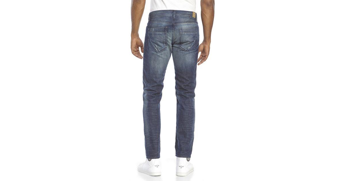 3fca8bb88f1 DKNY Indigo Williamsburg Skinny Jeans in Blue for Men - Lyst