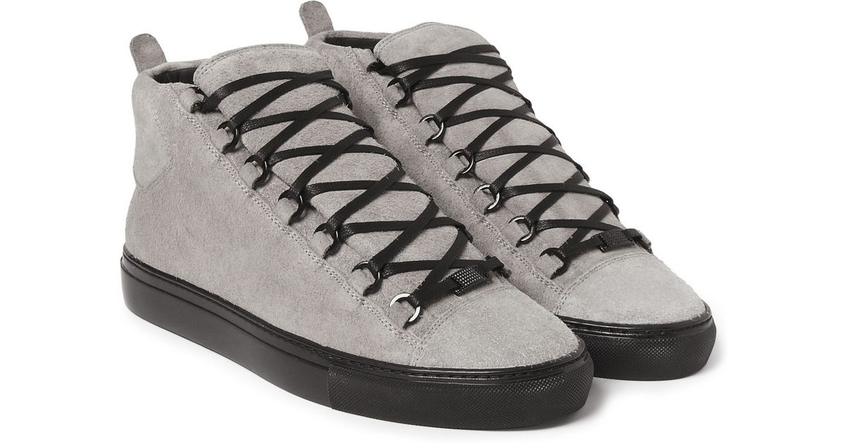 balenciaga arena sneakers grey size 15 medium in gray for. Black Bedroom Furniture Sets. Home Design Ideas
