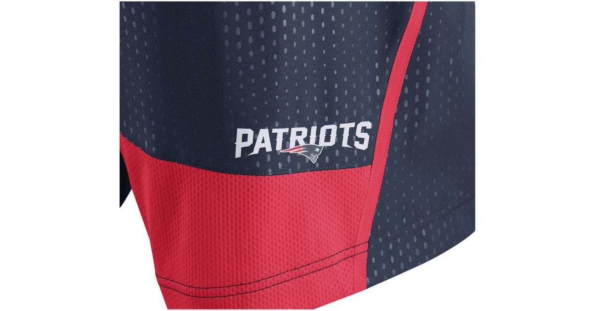 047290ee Nike Blue Men's New England Patriots Dri-fit Fly Xl 3.0 Shorts for men