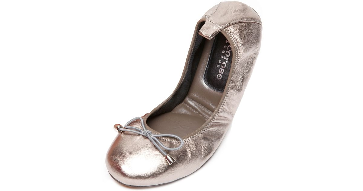 Sandringham Cocorose Foldable Shoes Silver