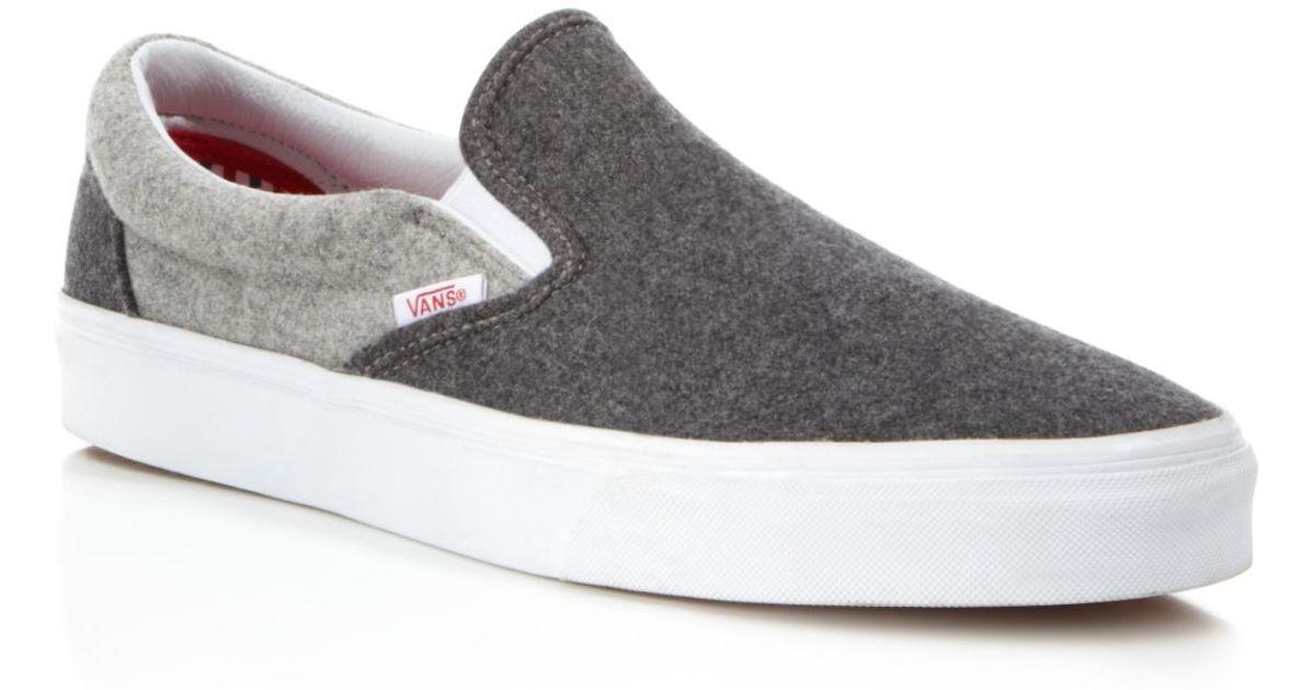 Vans Classic Wool Sport Slip On