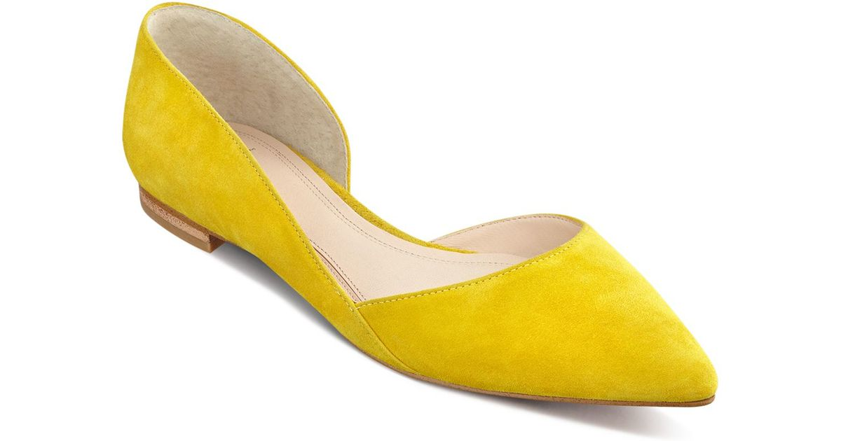 Marc Fisher Sunny Suede Pointed Toe D