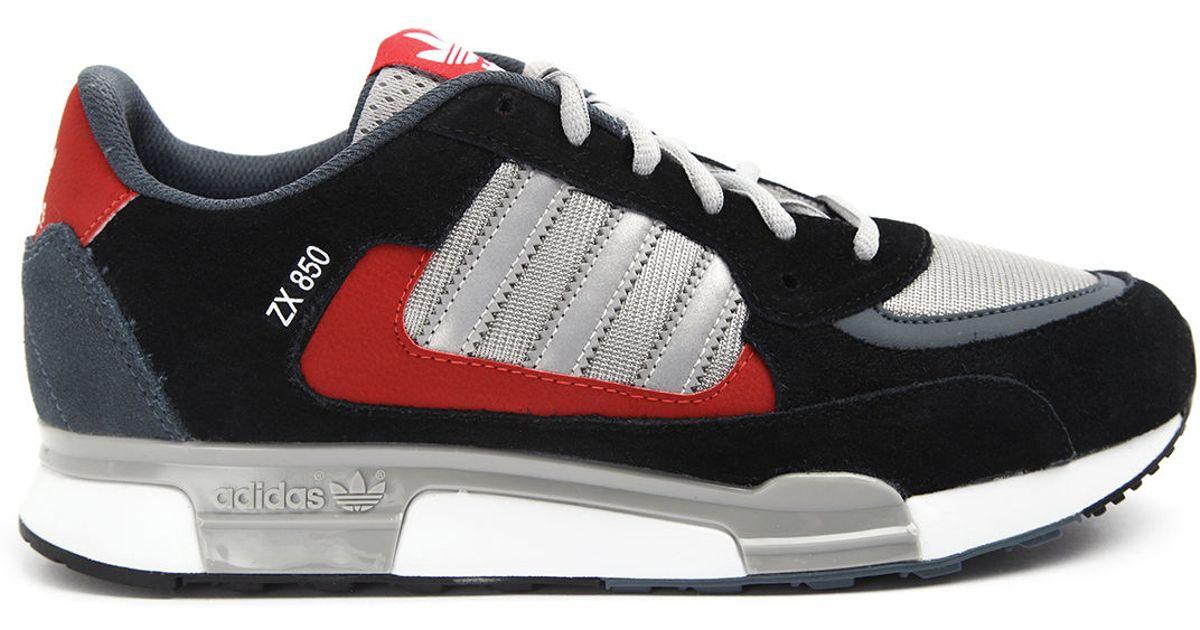 9dd8a663897 adidas zx 850 black red