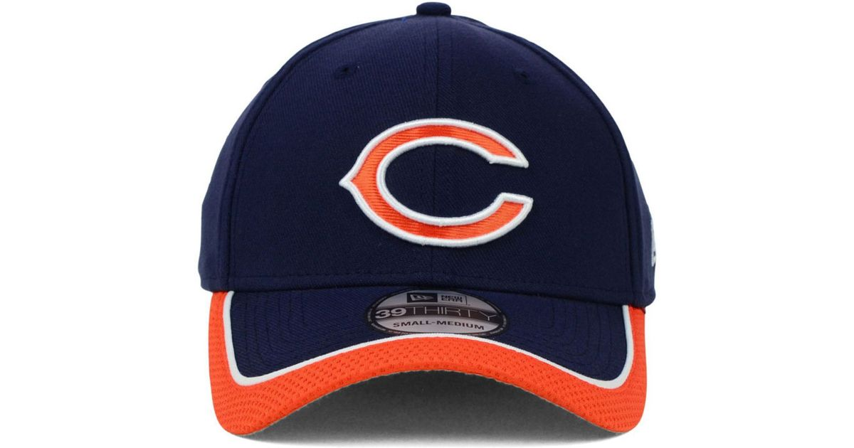 fashion styles factory price authorized site KTZ Synthetic Chicago Bears On Field 39Thirty Cap in Blue for Men ...