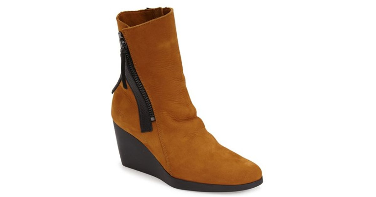 arche vitahe water resistant boots in brown lyst