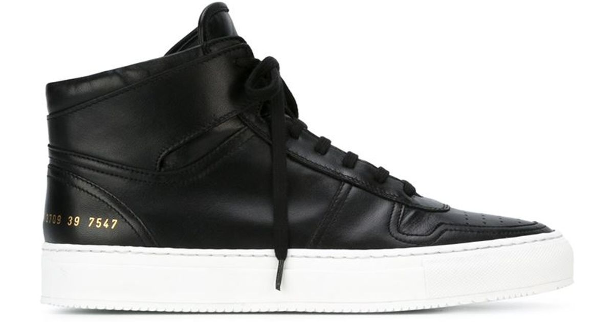 Common Projects Hi-top Lace-up Sneakers