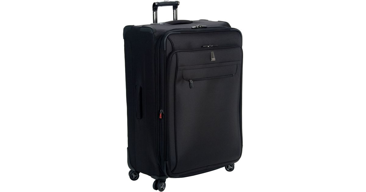 delsey helium x 39 pert lite 29 expandable suiter trolley in black for men lyst. Black Bedroom Furniture Sets. Home Design Ideas