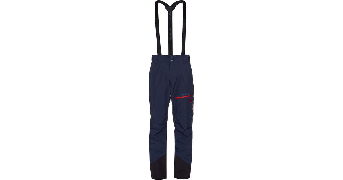 premium selection 8e413 eeab5 Peak Performance Blue Heli Alpine Technical Ski Trousers for men