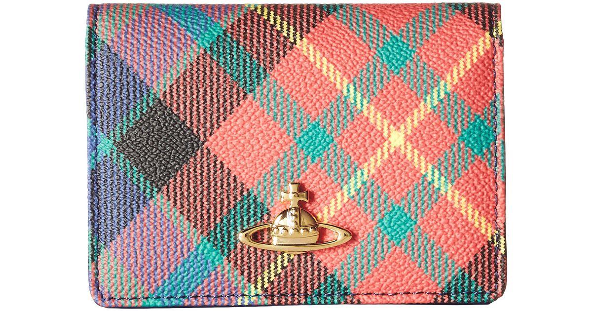 lyst vivienne westwood braccialini derby small credit card holder - Small Credit Card Holder