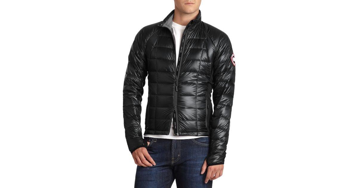 Canada Goose Hybridge Lite Jacket In Black For Men Black