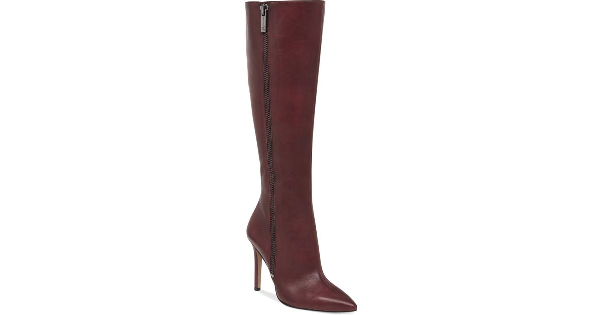 c97ed3e3296 Jessica Simpson Purple Capitani Dress Boots