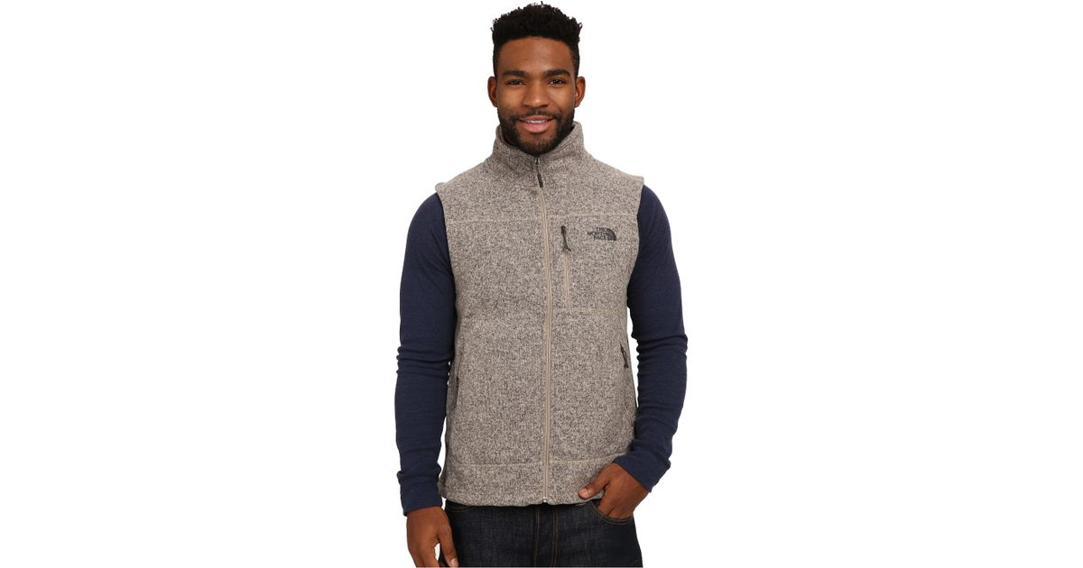 ... ireland lyst the north face gordon lyons vest in natural for men fb21f  9c095 729118f03