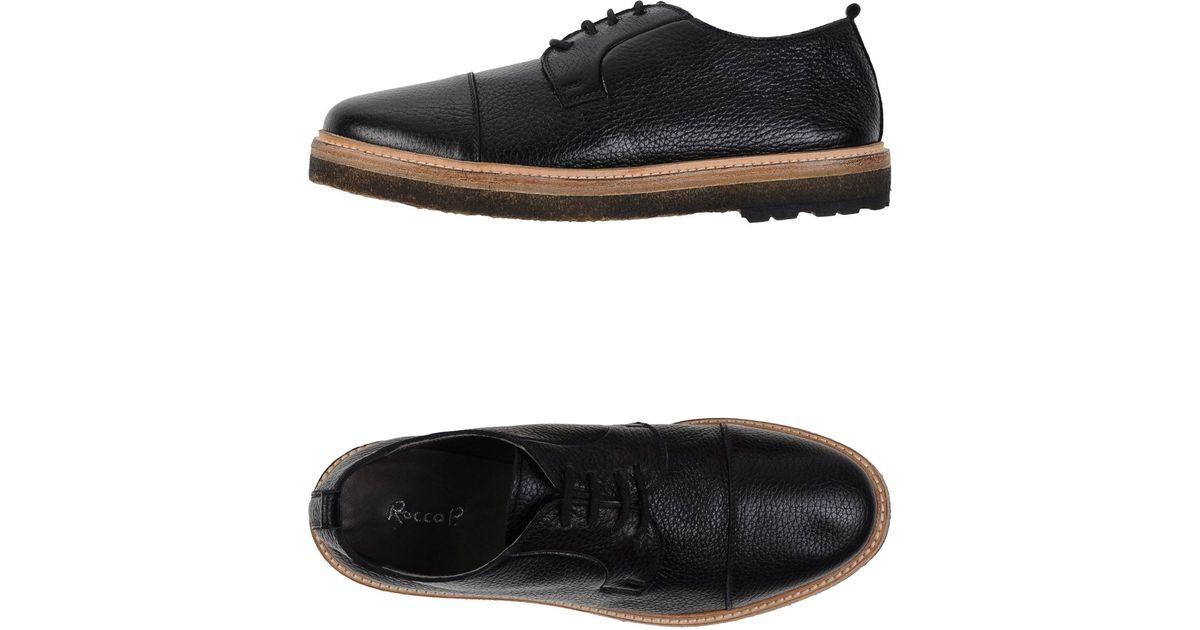 p lace up shoes in black lyst
