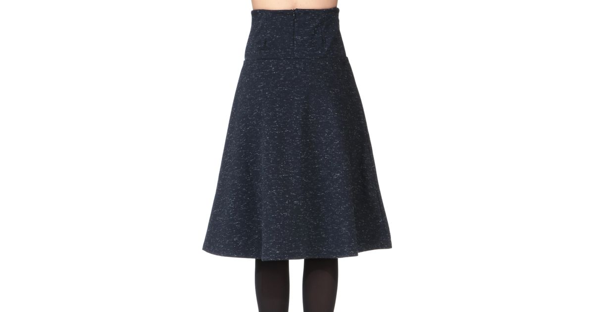 numph midi skirt maxi skirt in blue save 31 lyst