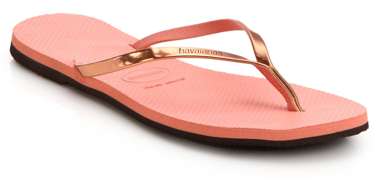 Havaianas Flip Flops With Back Strap