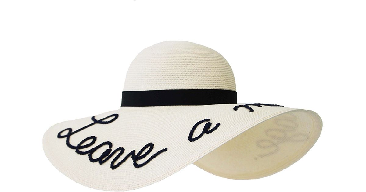 "7cc19cb7b Eugenia Kim White Bunny ""leave A Message"" Hat"