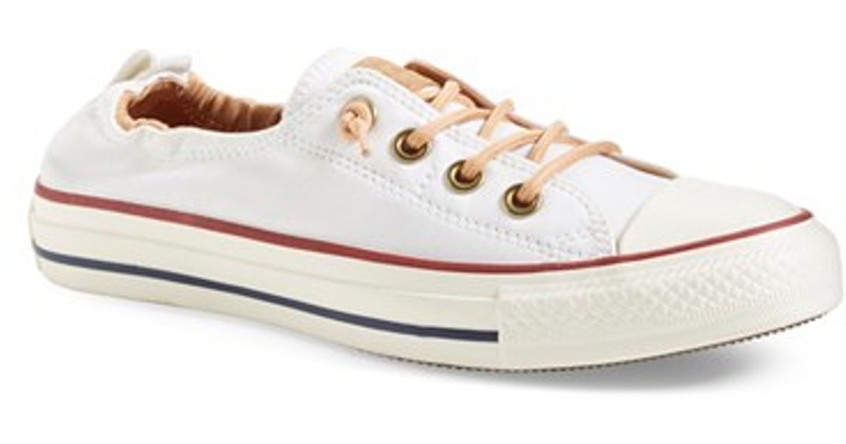 Lyst - Converse All Star Peached Shoreline Low-Top Sneakers 142ad797b