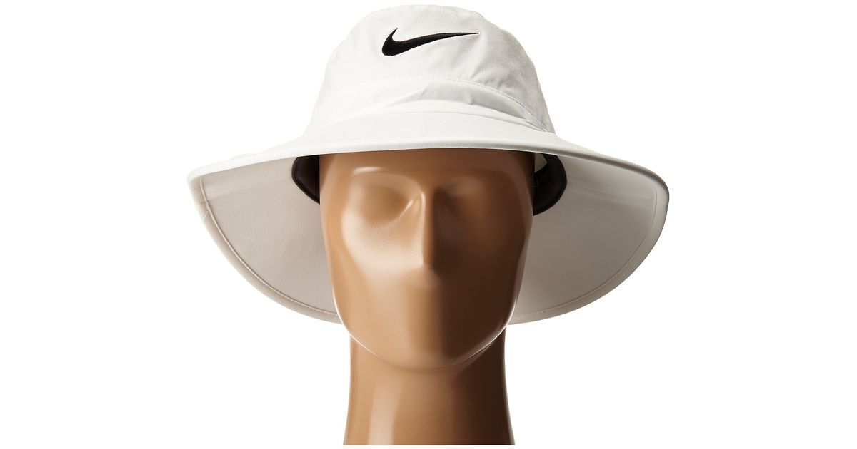 20f683c641f Lyst Nike Sun Protect Bucket Cap In White For Men