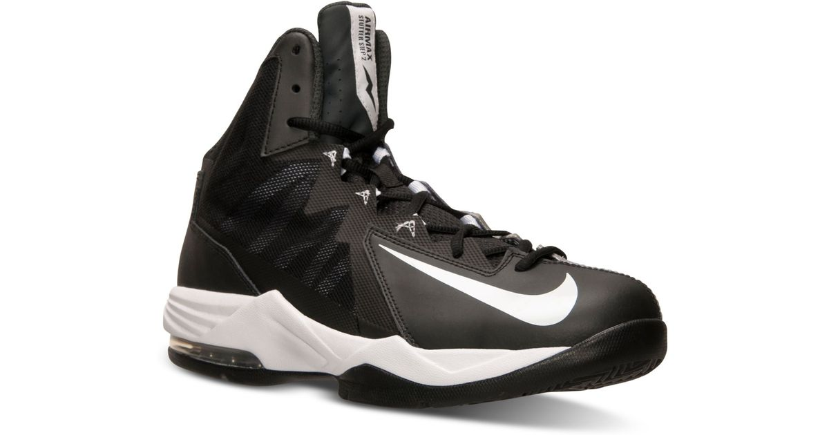 new concept ce5a1 46283 Nike Men S Air Max Stutter Step 2 Basketball Sneakers From Finish Line in  Black for Men - Lyst