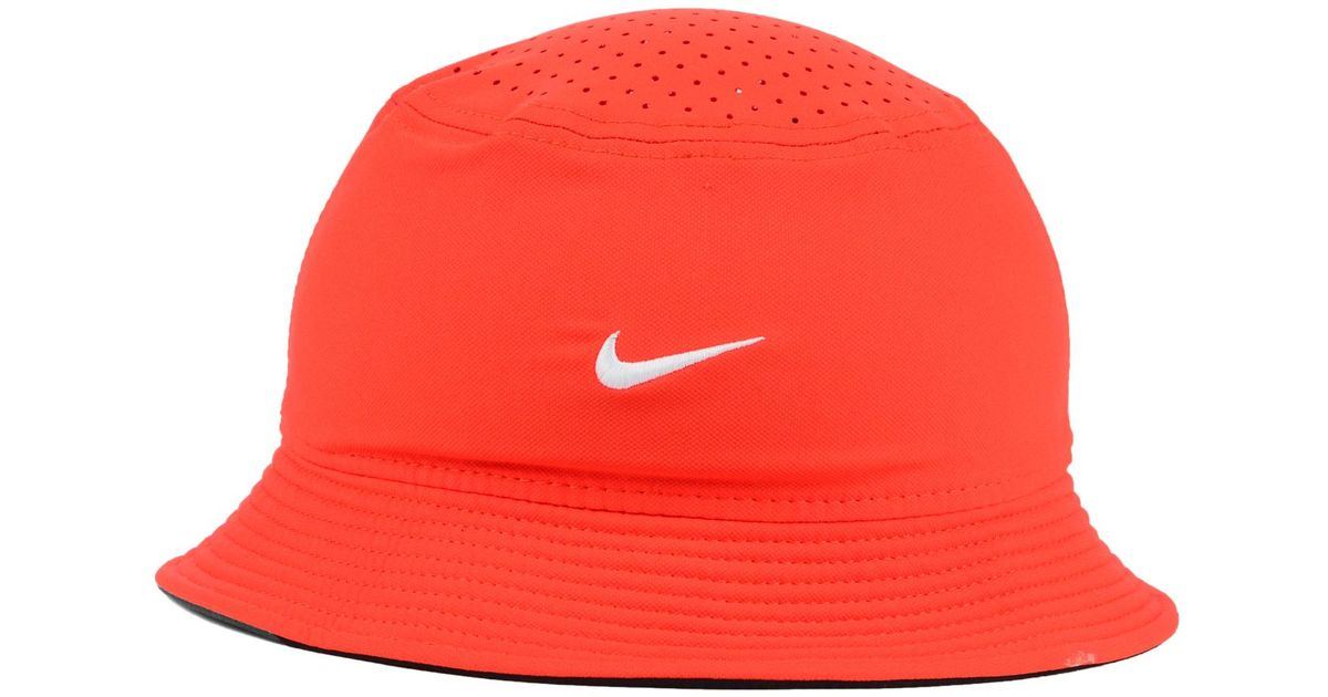 Lyst - Nike Clemson Tigers Vapor Bucket Hat in Orange for Men 7dbef44f7d4