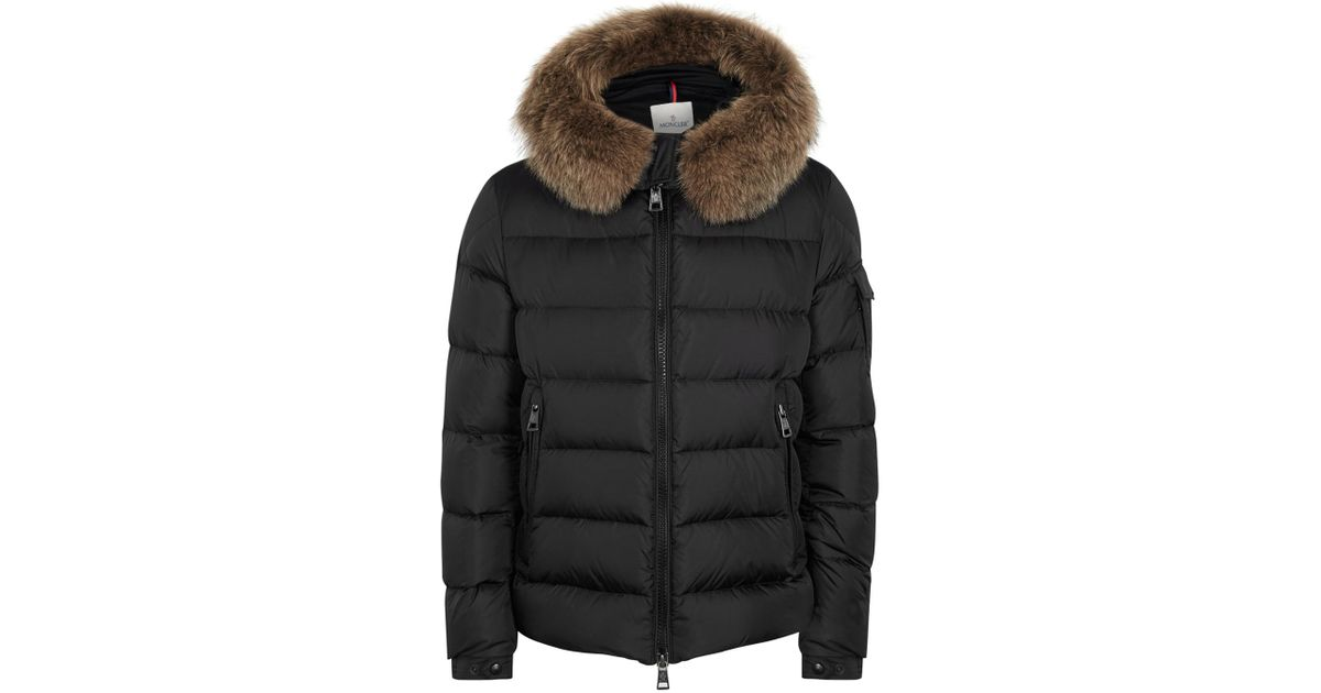 9012edc3f Moncler Byron Black Hooded Quilted Shell Jacket for men