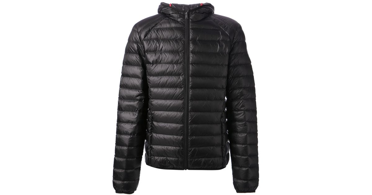 J.o.t.t Feather Down Jacket in Black for Men | Lyst