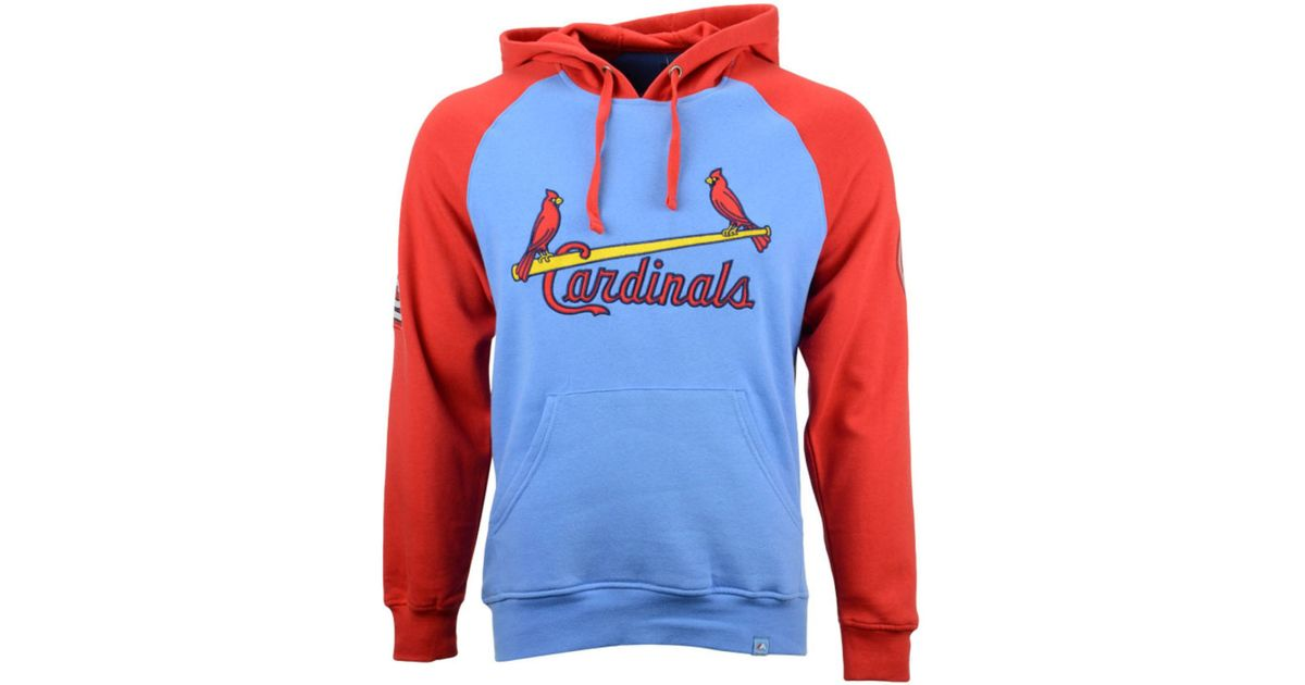 low priced c5cc7 b73ee Majestic Blue Men's St. Louis Cardinals Hoodie for men