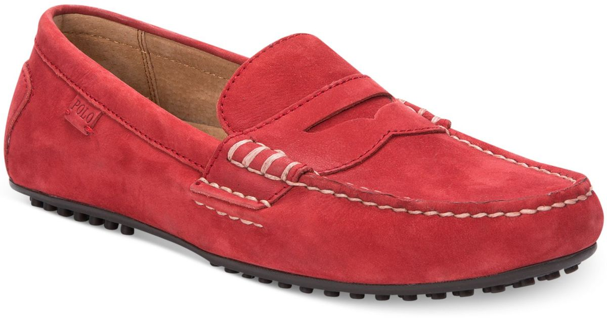 Ralph Lauren Polo Wes Penny Loafers in