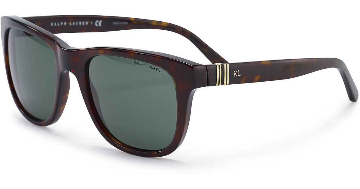 97ac48c231 Pink Pony Black Nautical-striped Sunglasses for men